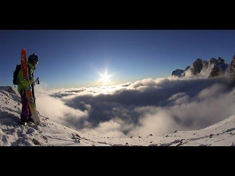 Freeriden am Dachstein Gletscher