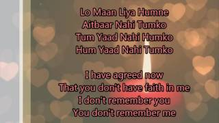 Lo Maan Liya with English Translation - Raaz Reboot (2016) | Arijit Singh