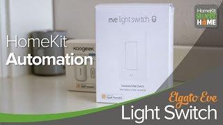 HomeKit Automation with Eve Light switch and Koogeek Door and Window Sensor