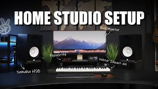 Music Studio Desk Setup For Producers - DIY Home Studio Setup 2020