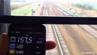 preview picture of video 'BWE przelotem przez Żychlin / The Berlin Warszawa Express train'