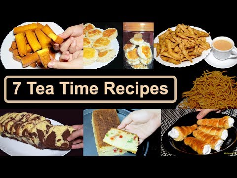 7 Tea Time Recipes by Kitchen With Amna