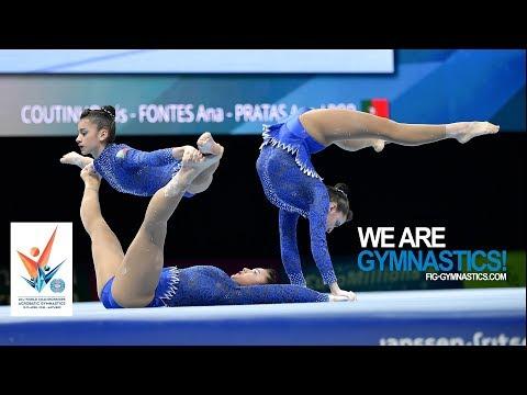 2018 Acrobatic Worlds, Antwerp (BEL) - Highlights WOMEN&#39S GROUPS FINAL - We Are Gymnastics !