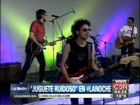 C5N - MUSICA EN VIVO: JUGUETE RUIDOSO EN LA NOCHE