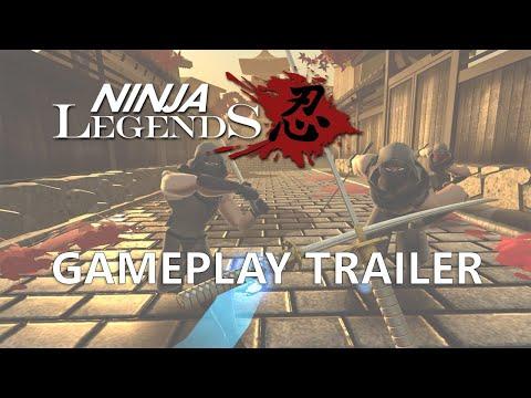 Gameplay Trailer de Ninja Legends