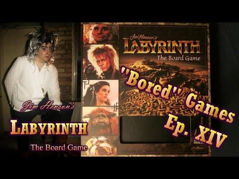"""Review of """"Labyrinth: the Board Game"""""""