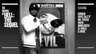 Bad Meets Evil - Living Proof Official cd version new song 2011 (Eminem and Royce da 5'9)