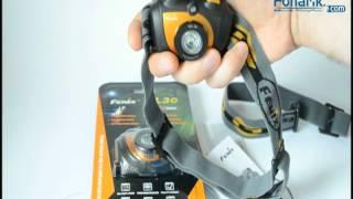 Fenix HL30 - відео 2