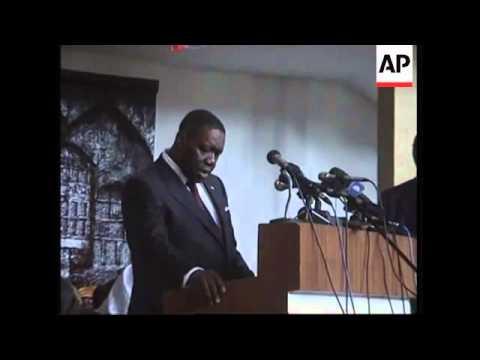 Businessman takes control as Liberia's peacetime leader