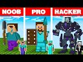Download Lagu Minecraft NOOB vs PRO vs HACKER: LEGO STATUE HOUSE BUILD CHALLENGE in Minecraft Animation Mp3 Free