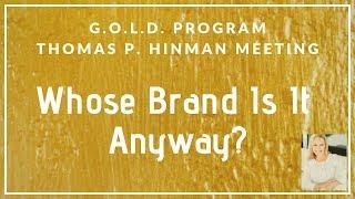 Thomas Hinman Meeting Promo