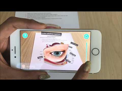 Human Eye Augmented Reality Sample 2