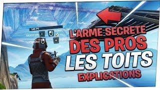 🛠️ TUTO : LES TOITS, L'ARME SECRETE DES MEILLEURS JOUEURS ! | Fortnite Battle Royale