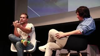 Nacho Vidal se desnuda para hablar del porno y la webcam en la Universidad Juan Bustos