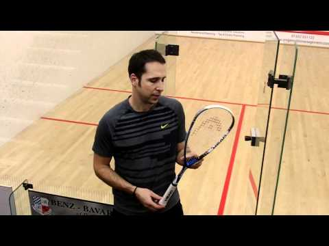Head Liquid Metal 125 Squash racket Review & Test