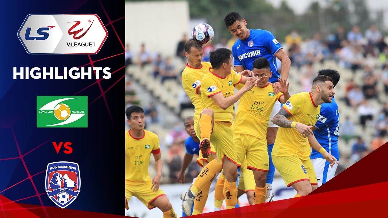 Highlights | SLNA - Than Quảng Ninh | Chiến thắng đầu tay cho đội bóng xứ Nghệ
