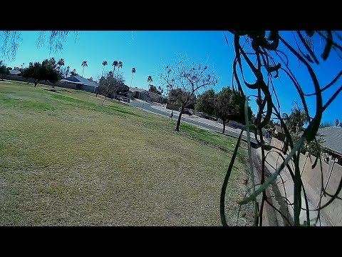 Geprc CineEye 79HD - FPV Crusin On Very Windy Ice Cold Day at Park(3s Batts)