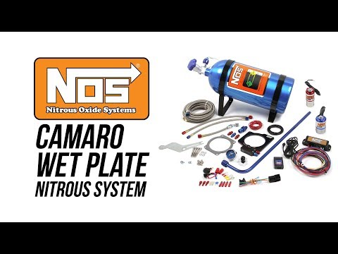 NOS 2010 - 2015 Camaro LS3 Wet Plate Nitrous System