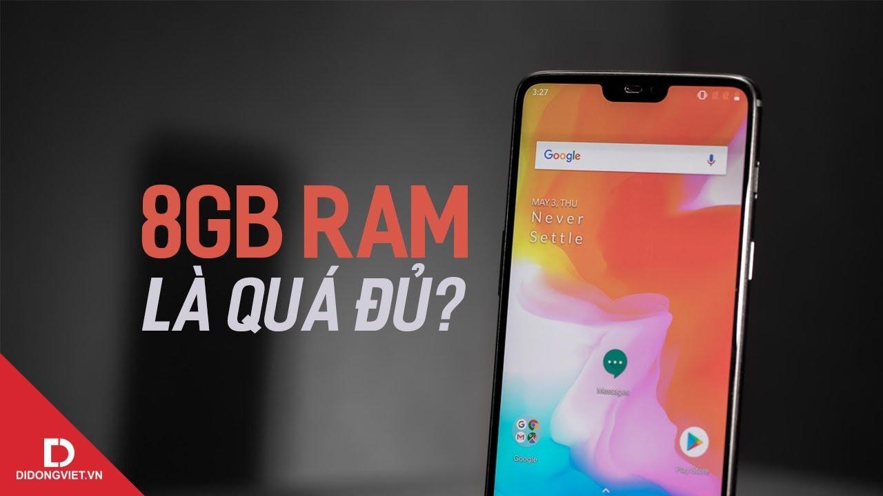 8GB là mức trần cho RAM smartphone 2019?