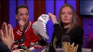 """Verslaafd aan schoenen: """"Ik heb 550 paar sneakers"""" - RTL LATE NIGHT"""