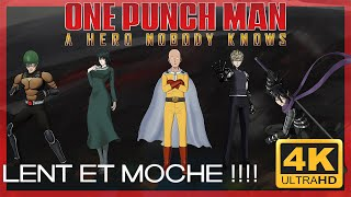 👊 [Test 4K] One Punch Man A Hero Nobody Knows : Lent et moche ?