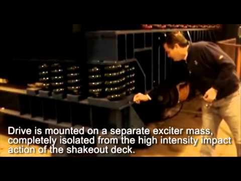 Two-Mass Vertical Vibratory Shakeouts - General Kinematics