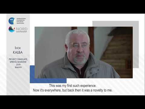 Відео-відгук випускника проекту «Норвегія-Україна» Ігоря Кальби