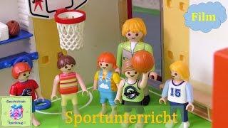 Playmobil Film Deutsch SPORTUNTERRICHT IN DER SCHULE ♡ Playmobil Geschichten Mit Familie Miller