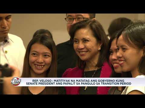 [ABS-CBN]  Senate President dapat pumalit sa pangulo sa transition period – lawmaker