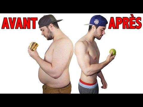 Meilleure façon de perdre de la graisse moyenne
