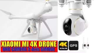Original Xiaomi Portable RC Quadcopter Mi 4k Drone 30fps UHD Camera 3-Axis Gimbal GPS|DRONE GADGET