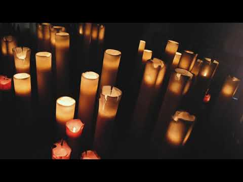 Apvalios mėlynos žvakės