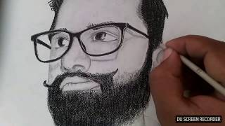 How To Draw Face | Fast And Easy Pencil Sketch | Art Of Drawing | My Sketch Drawn By Baba Arts