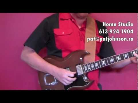 Guitar Lessons with Pat Johnson in Brockville / Athens