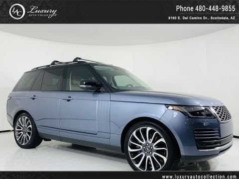 Pre-Owned 2018 Land Rover Range Rover V8 Supercharged