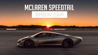 McLaren Speedtail - Show Car