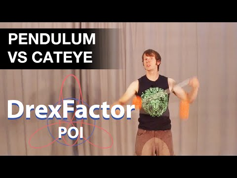 Poi Tutorial: Pendulum Vs Cateye