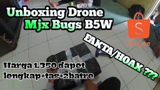 MJX BUGS B5W-UNBOXING-1JTan lengkap plus tas plus 2 batre