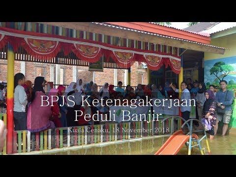 BPJS Ketenagakerjaan Peduli Banjir   Kantor Cabang Rengat