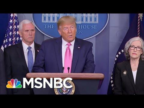 Senator Skeptical Of President Donald Trump Response To Coronavirus | Morning Joe | MSNBC