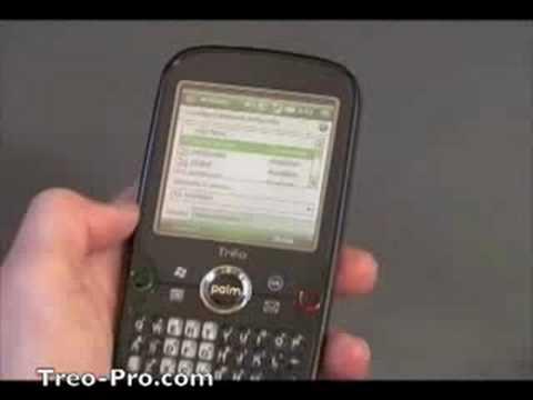 Treo Pro Gets a Video, Still Runs Windows Mobile