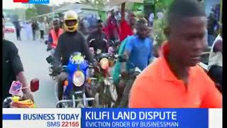 Kilifi residents demonstrate against eviction notice