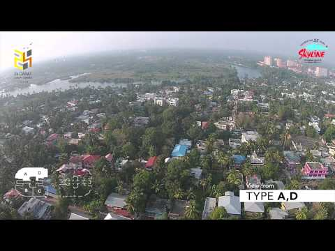 Skyline 24 Carat Drone Video