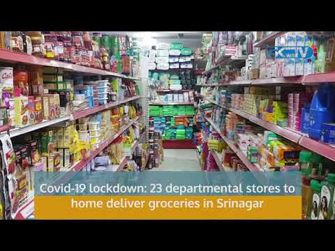 Covid-19 lockdown: 23 departmental stores to home deliver groceries in Srinagar