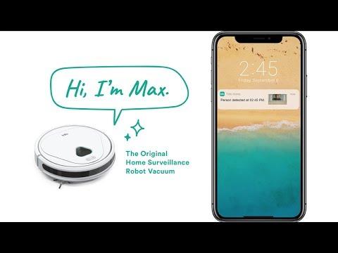 Trifo Max Ai Powered Surveillance Robot Vacuum Cleaner