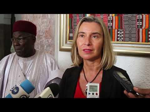 Mission de Mme Federica Mogherini, Haute Représentante de l'Union pour les affaires étrangères et la