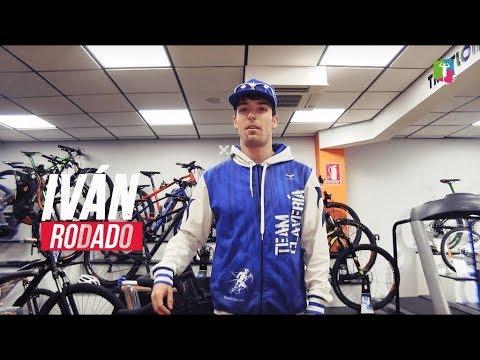 Iván Rodado, triatleta Team Clavería 2019, realiza la prueba de esfuerzo en Healthing de Reebok SC