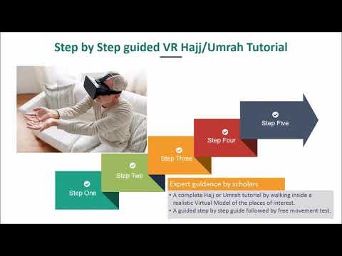 Hajj and Umrah Immersive Reality Training & Companion app
