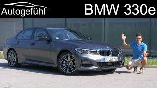 BMW 3 Series 330e PHEV sedan FULL REVIEW Plugin-Hybrid - Autogefühl