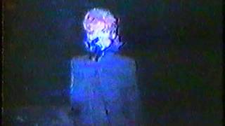 """Mylene Farmer """"L' horloge"""" (extrait) Bruxelles 20-10-1989"""